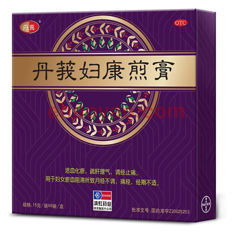 丹莪妇康煎膏 6袋