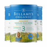 澳洲直邮 Bellamy s贝拉米婴幼儿奶粉 三段*3罐