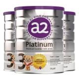 A2 PLATINUM白金系列高端牛奶粉三段*3罐【平安】