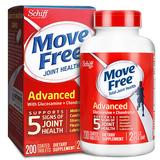 Schiff MoveFree 维骨力氨糖软骨素 红瓶200粒