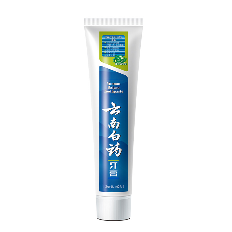 云南白药牙膏(薄荷清爽型) 100克*3支