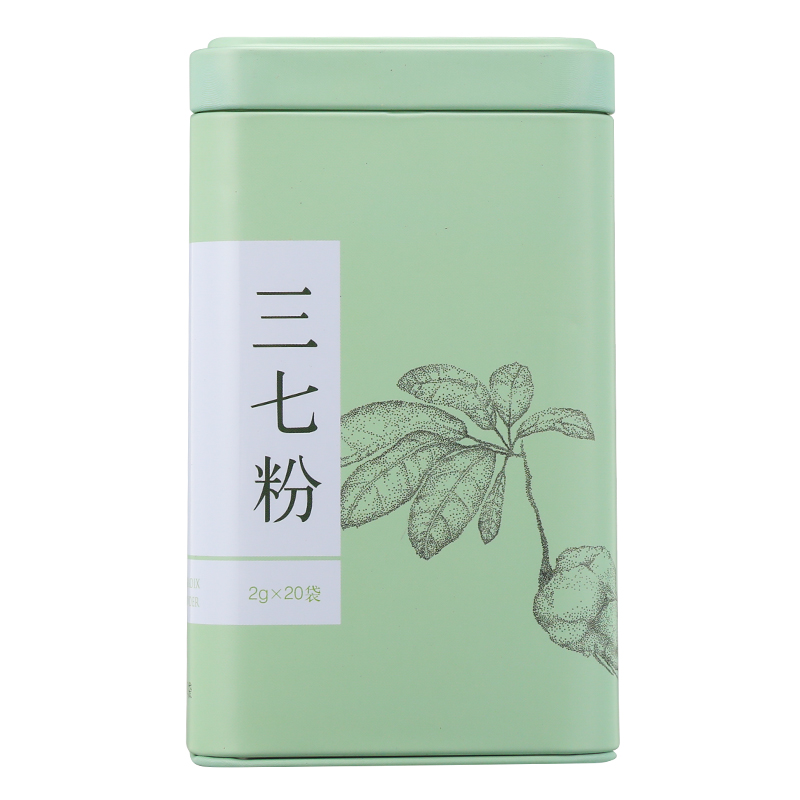 3罐】同仁堂 三七粉 2g*20袋*3罐