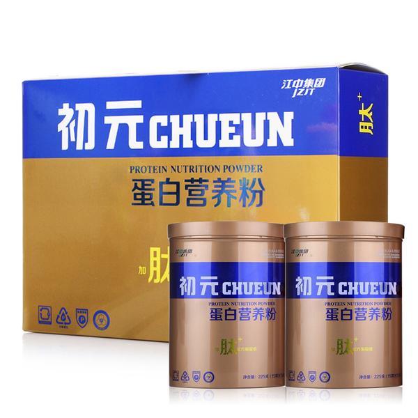 初元 初元牌蛋白营养粉 450g(15g*15袋*2罐)