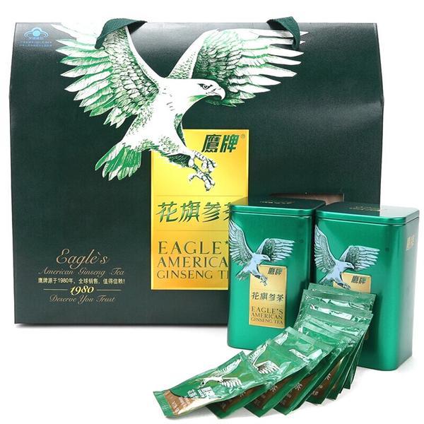鹰牌 鹰牌花旗参茶(礼盒) 3g*10包*2罐