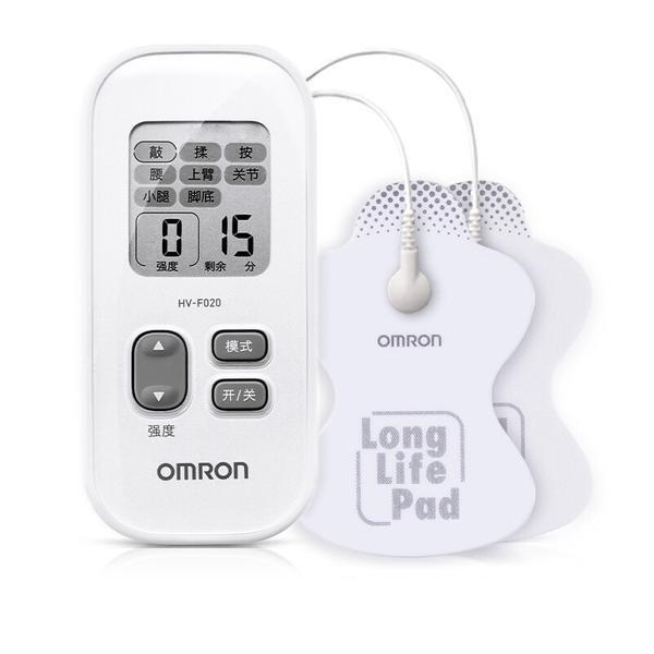 欧姆龙 低频治疗器 HV-F020 理疗仪家用按摩器