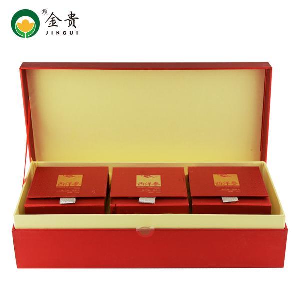 金贵  西洋参 原产地加拿大  50g*3盒