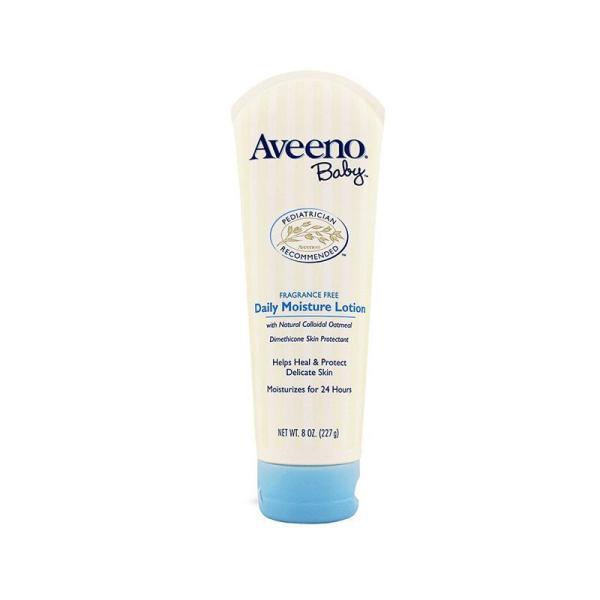 Aveeno 艾维诺 天然燕麦婴儿保湿润肤乳(浅蓝盖) 227g 支