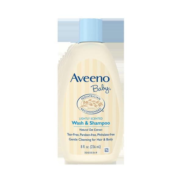 Aveeno 艾维诺 婴儿无泪燕麦洗发沐浴二合一 236ml/瓶