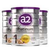 【保税】澳洲进口A2 PLATINUM 白金婴幼儿奶粉 一段 900g*3罐