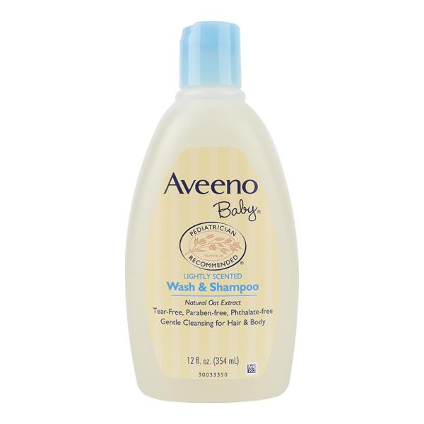 Aveeno 艾维诺 婴儿无泪燕麦洗发沐浴二合一 354ml/瓶