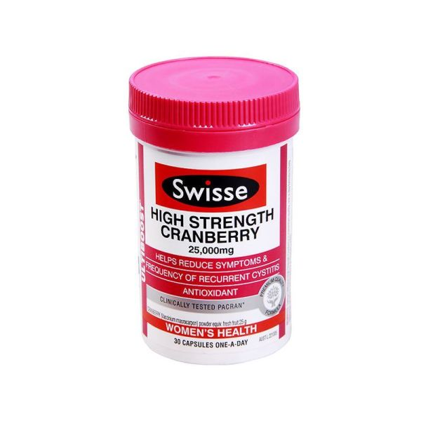 Swisse 蔓越莓精华高含量25000mg 30粒