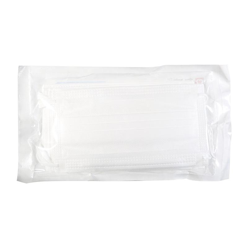 白色100支】九信 一次性使用医用口罩 平面耳挂式 17.5cm*9.5cm*10只 白色